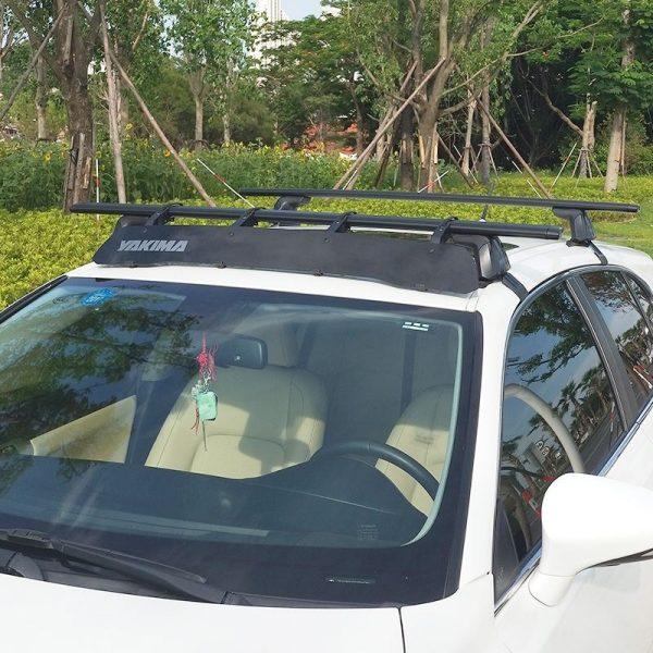 Дефлектор за напречни греди и багажници Yakima WindShield 34 Fairing за покрива на автомобила и намалява шума и челното съпротивление за по малко шум