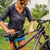 Удължаващ напречен адаптер за рамка Yakima TubeTop 8002531 за дамско или детско колело без фабрична напречна рамка за монтаж на вело багажник или стойка за стена
