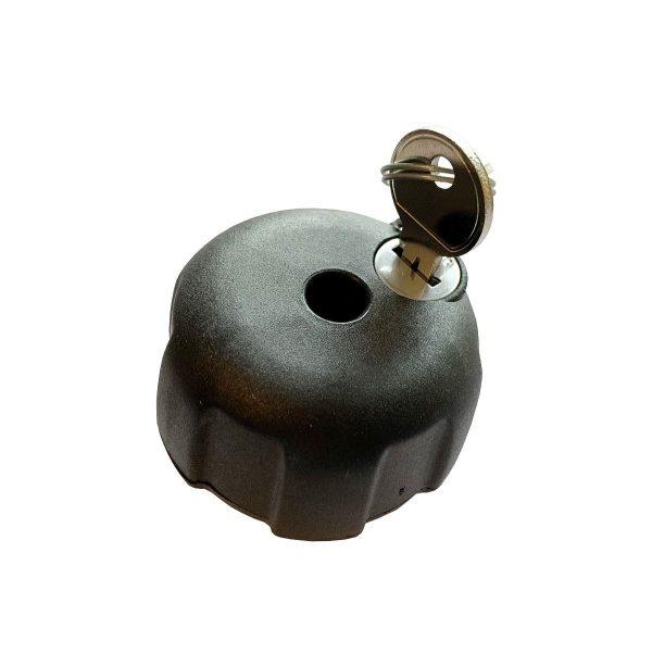 Заключващ механизъм Neumann NPN0503 М8 за Вело Багажник или Автобокс - предпазва и защитава от кражба багажници и други авто аксесоари на резба М8.