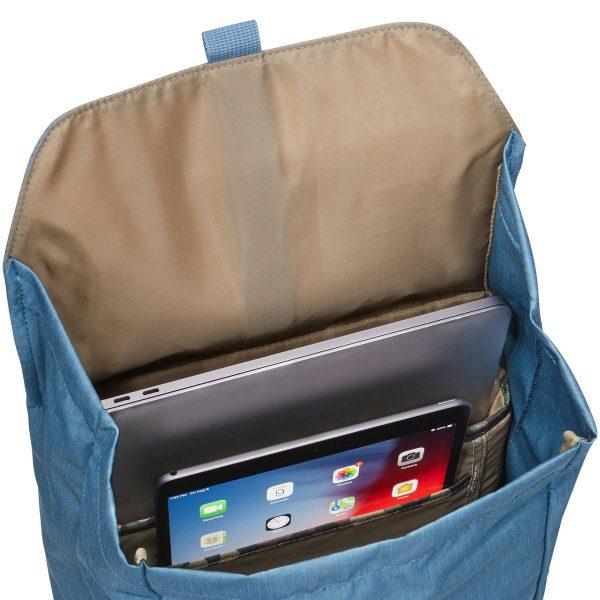 Ученическа раница Thule Lithos 16L с подплатен джоб за лаптоп и таблет, хубава раница за училище или разходки в града, мек гръб, здрав материал