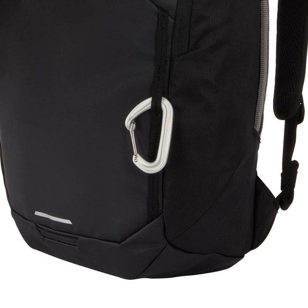 Ученическа Раница Thule Chasm Backpack 26L Black Черна е с подплатен джоб за лаптоп, хубава раница за училище, спорт или разходки в града, мек гръб, странична дръжка