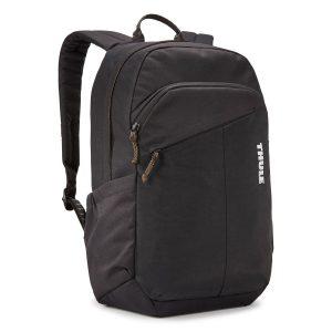Ученическа Раница Thule Indago Backpack 23L Black Черна е изработена от 100% рециклирани материали с подплатен джоб за лаптоп, хубава раница за училище или разходки в града