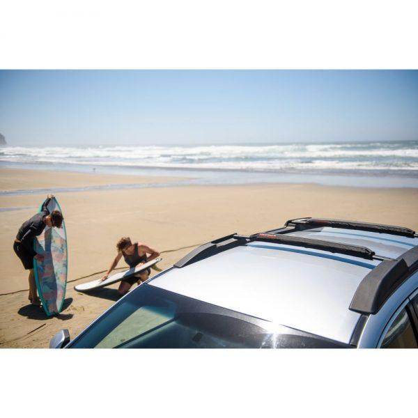 "Багажник за Каяк Yakima Aero CrossBar Pads 30"" универсален багажник за кану, каяк или лодка Подложки за напречни греди, мека, здрава, защитаваща лака"